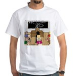Draculas Childhood White T-Shirt
