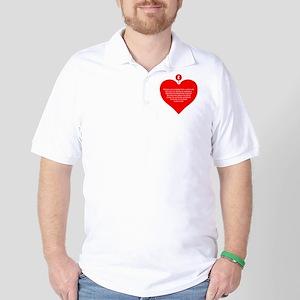 Red Heart Golf Shirt