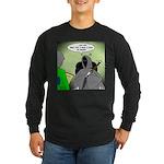 Death Afraid of Dying Long Sleeve Dark T-Shirt