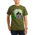 Death Afraid of Dying Organic Men's T-Shirt (dark)