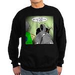 Death Afraid of Dying Sweatshirt (dark)