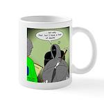 Death Afraid of Dying Mug