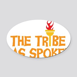 tribe-01 Oval Car Magnet