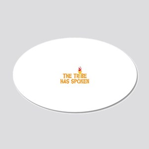 tribe-01 20x12 Oval Wall Decal