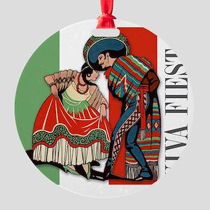mpad_vs2_fiesta Round Ornament