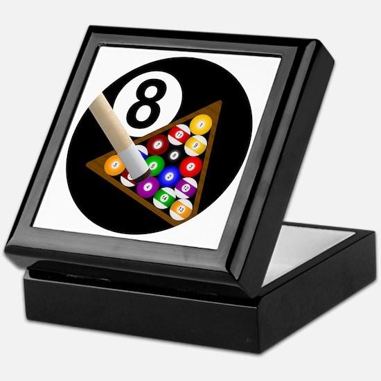 8ball_large Keepsake Box