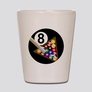 8ball_large Shot Glass