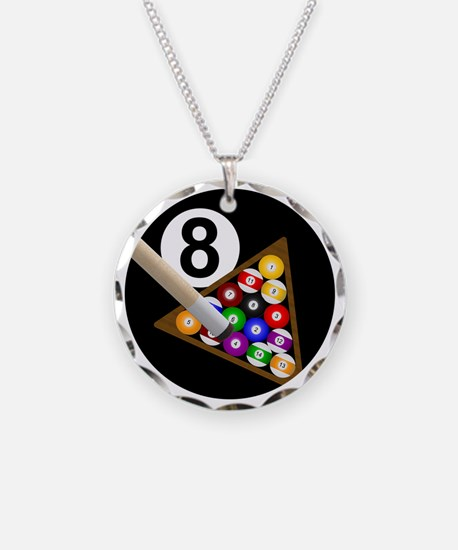 8ball_large Necklace