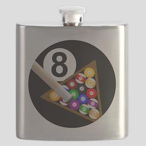 8ball_large Flask