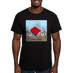Books on Tape Men's Fitted T-Shirt (dark)
