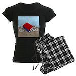 Books on Tape Women's Dark Pajamas