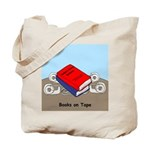 Books on Tape Tote Bag