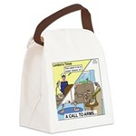 Call to Arms Canvas Lunch Bag