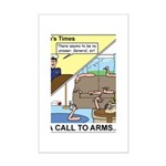 Call to Arms Mini Poster Print