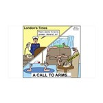 Call to Arms 35x21 Wall Decal