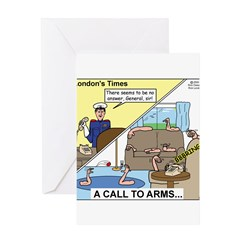 Call to Arms Greeting Card