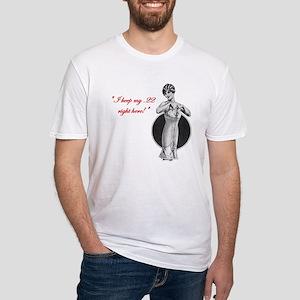 Twenty Two Caliber Fitted T-Shirt