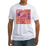 American Graffiti Fitted T-Shirt