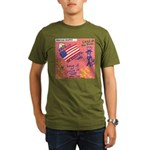 American Graffiti Organic Men's T-Shirt (dark)