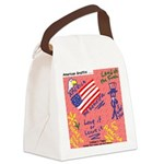 American Graffiti Canvas Lunch Bag