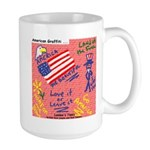 American Graffiti Large Mug