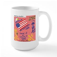 American Graffiti Large Mug