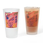 American Graffiti Drinking Glass