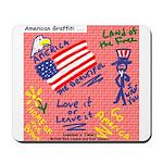 American Graffiti Mousepad