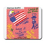 American Graffiti Mousepad