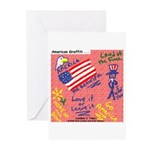 American Graffiti Greeting Cards (Pk of 10)