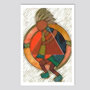Kokopelli healing Postcards (Package of 8)