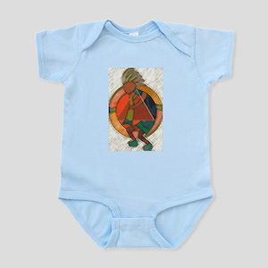 Kokopelli healing Infant Bodysuit