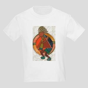 Kokopelli healing Kids T-Shirt