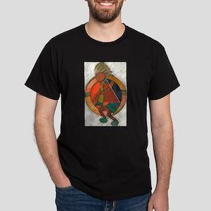 Kokopelli healing Dark T-Shirt