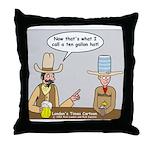 10 Gallon Hat Throw Pillow