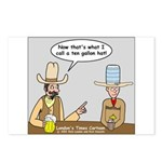 10 Gallon Hat Postcards (Package of 8)