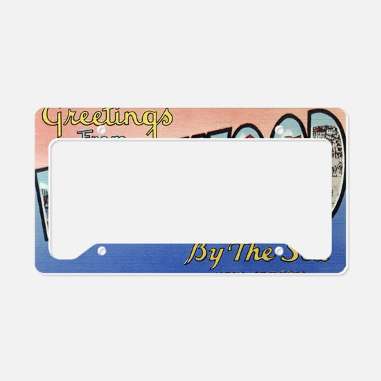 Wildwood PC pre-war License Plate Holder