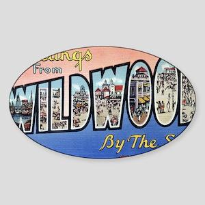 Wildwood PC pre-war Sticker (Oval)