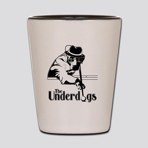 underdogsnew shirt white 2 Shot Glass