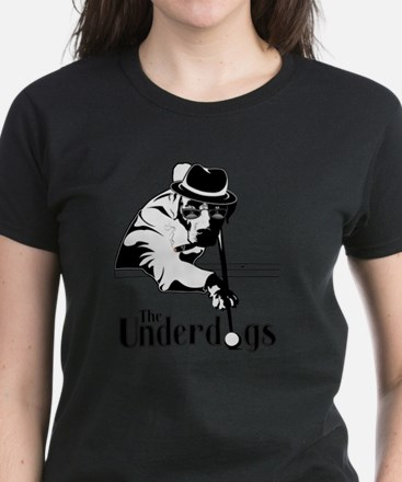 underdogsnew shirt white 2 Women's Dark T-Shirt