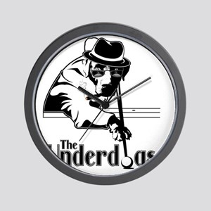 underdogsnew shirt white 2 Wall Clock