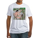 Tarzan and Jane Eyre Fitted T-Shirt