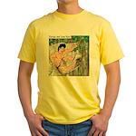 Tarzan and Jane Eyre Yellow T-Shirt
