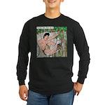 Tarzan and Jane Eyre Long Sleeve Dark T-Shirt