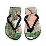 Tarzan and Jane Eyre Flip Flops