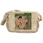 Tarzan and Jane Eyre Messenger Bag