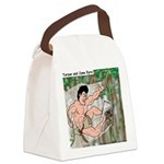 Tarzan and Jane Eyre Canvas Lunch Bag