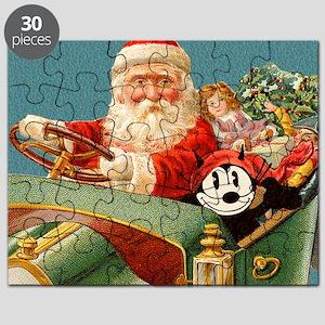 09 SANTA CAR Puzzle