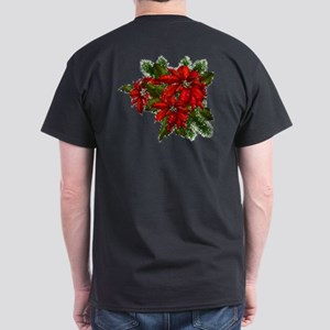 SPARKLING POINSETTIAS Dark T-Shirt