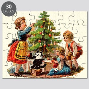 11 FELIX AND KIDS AND TREE Puzzle